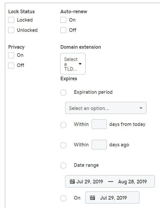 Consejos para el nuevo GoDaddy Domain Manager