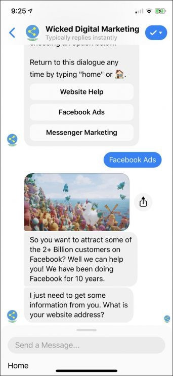 Chatbot marketing para agencias de marketing