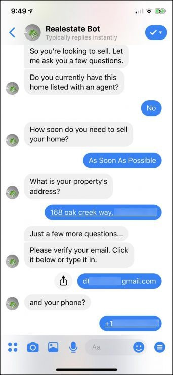 Chatbot marketing para inmobiliarias