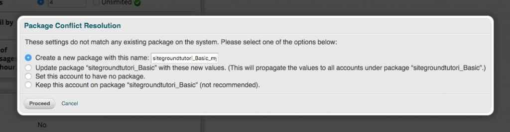 Habilitar SSH Opciones